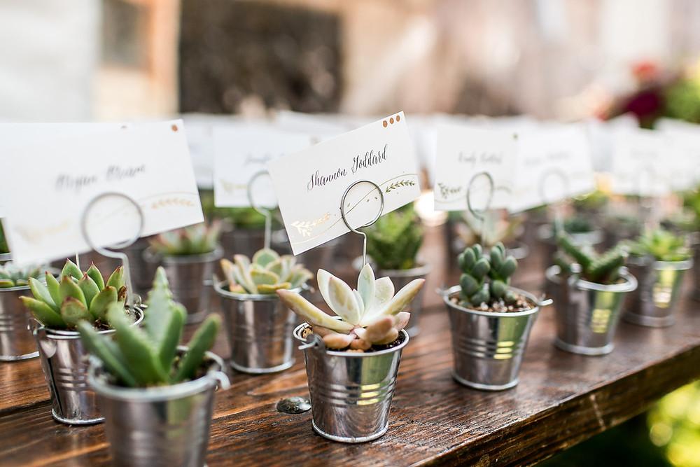 Colorado Wedding Planner - Colorado Wedding Escort Cards