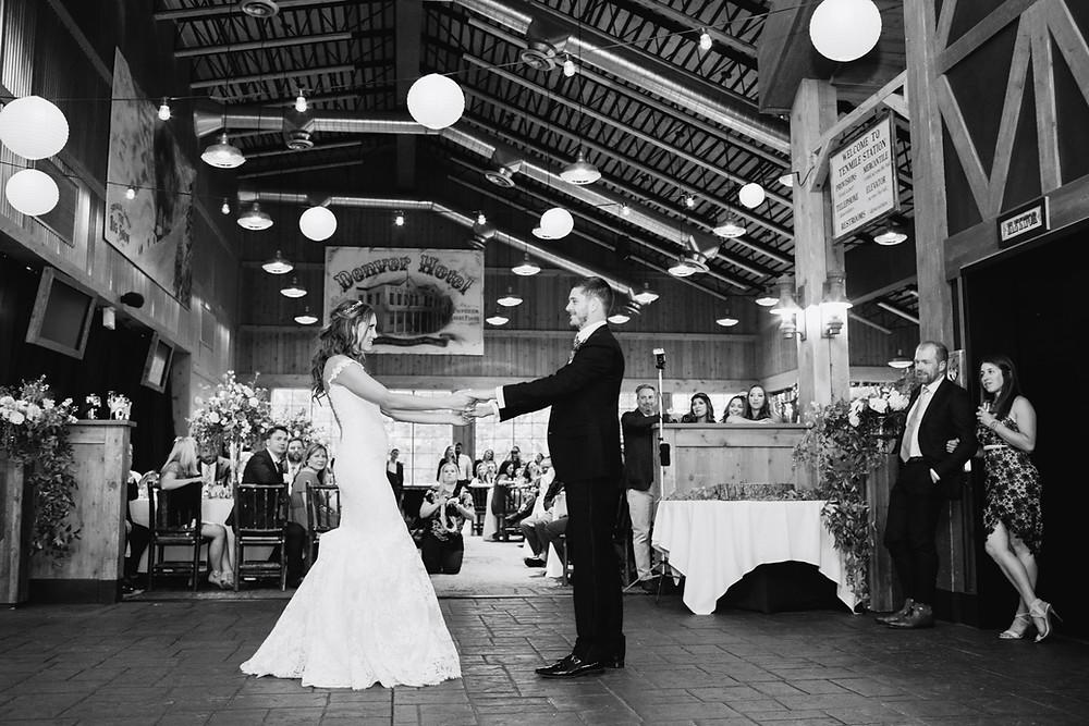 Breckenridge Wedding, First Dance, Ten Mile Station Wedding