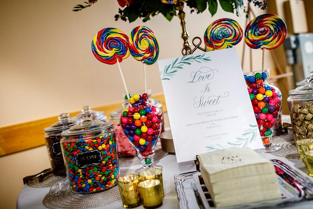 Copper Mountain Wedding Planner - Candy Bar