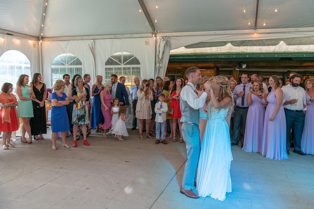 Keystone Wedding Planner - Keystone Ranch Wedding - first dance