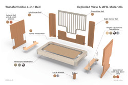 06 Exploded View Crib
