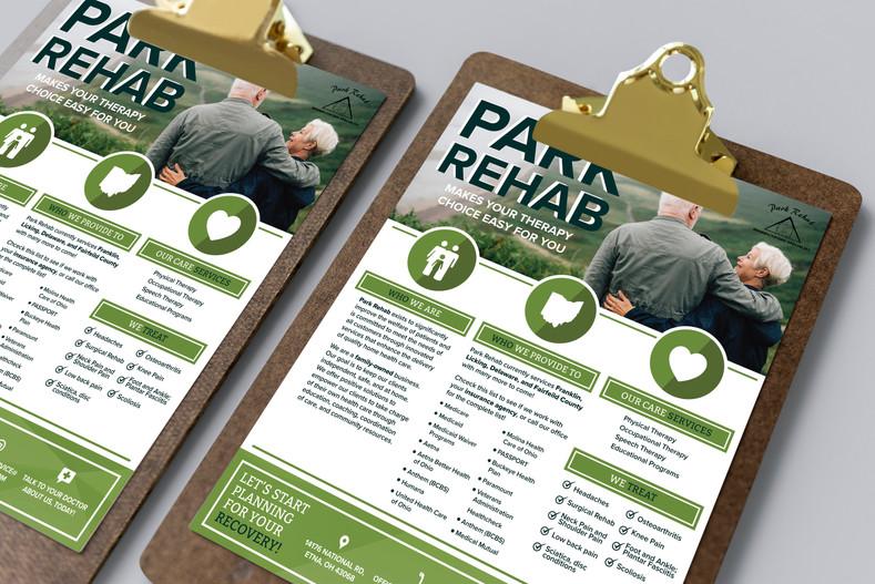 Park Rehab Flyer