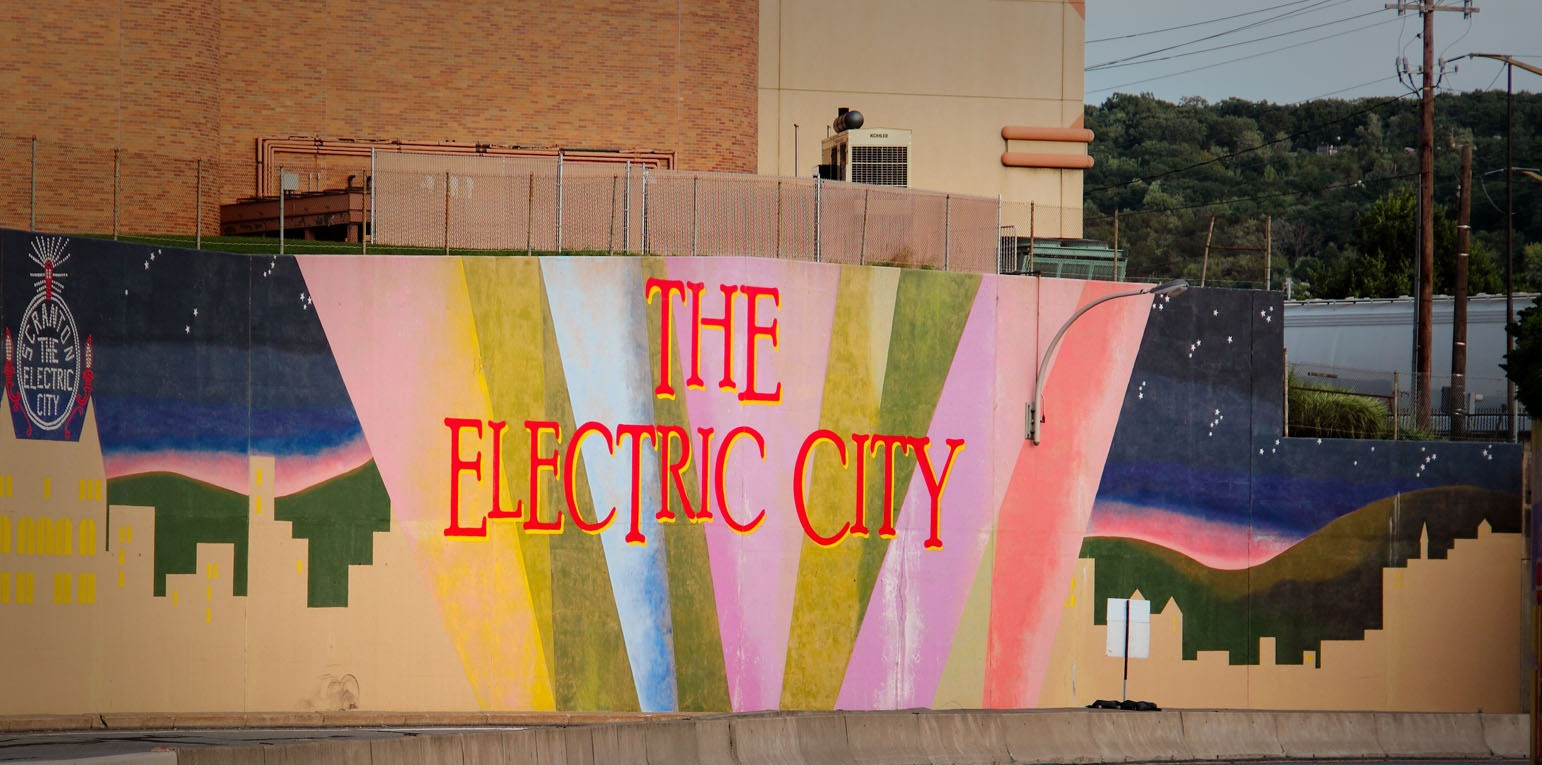 Electric City Mural
