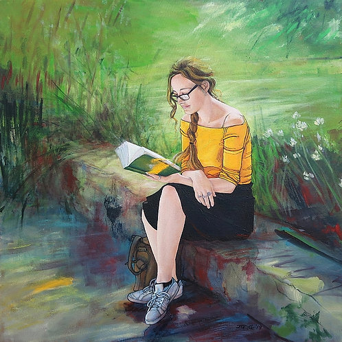 'Summer Reading' by Janet Leith