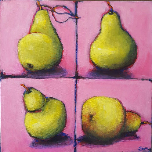 '4 Pears' by Sian Lim