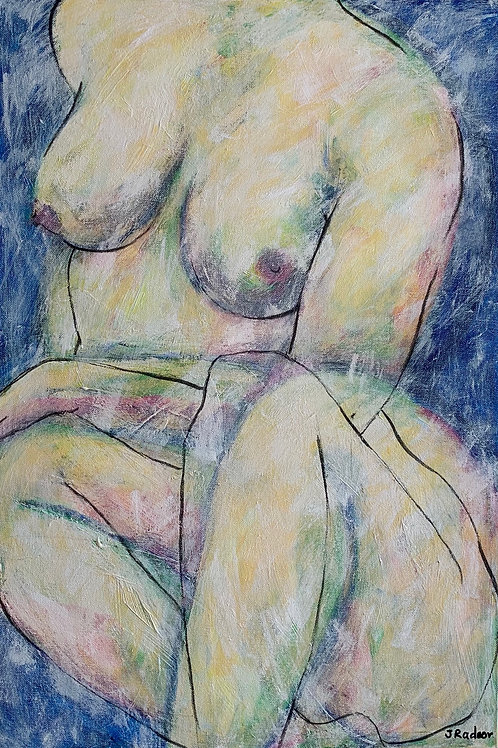 'Sitting Pretty' by Joanne Radnor