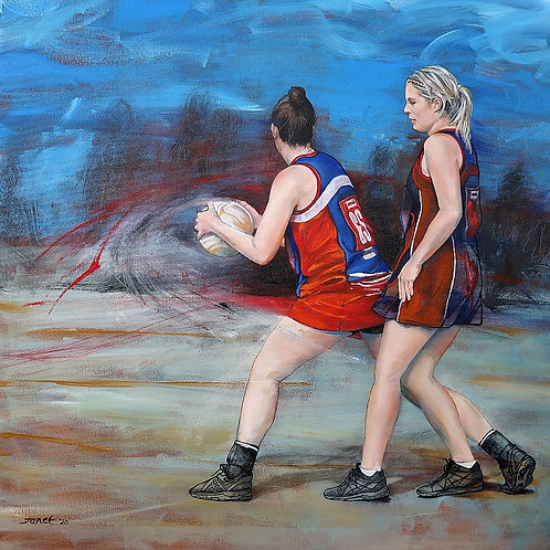 'The Netballers' by Janet Leith