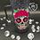 Thumbnail: Sugar Skull Handled Tumbler