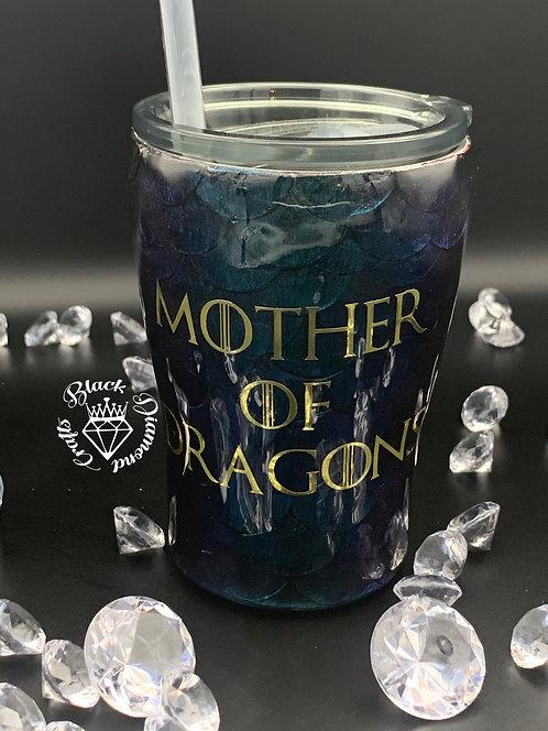Mother of Dragons 12 oz w/ Straw