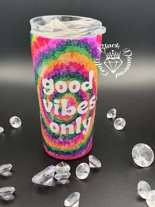 Good Vibes Only 16 oz Tumbler