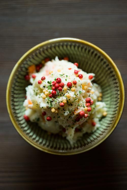 本日のポテトサラダ(写真はプレーン)