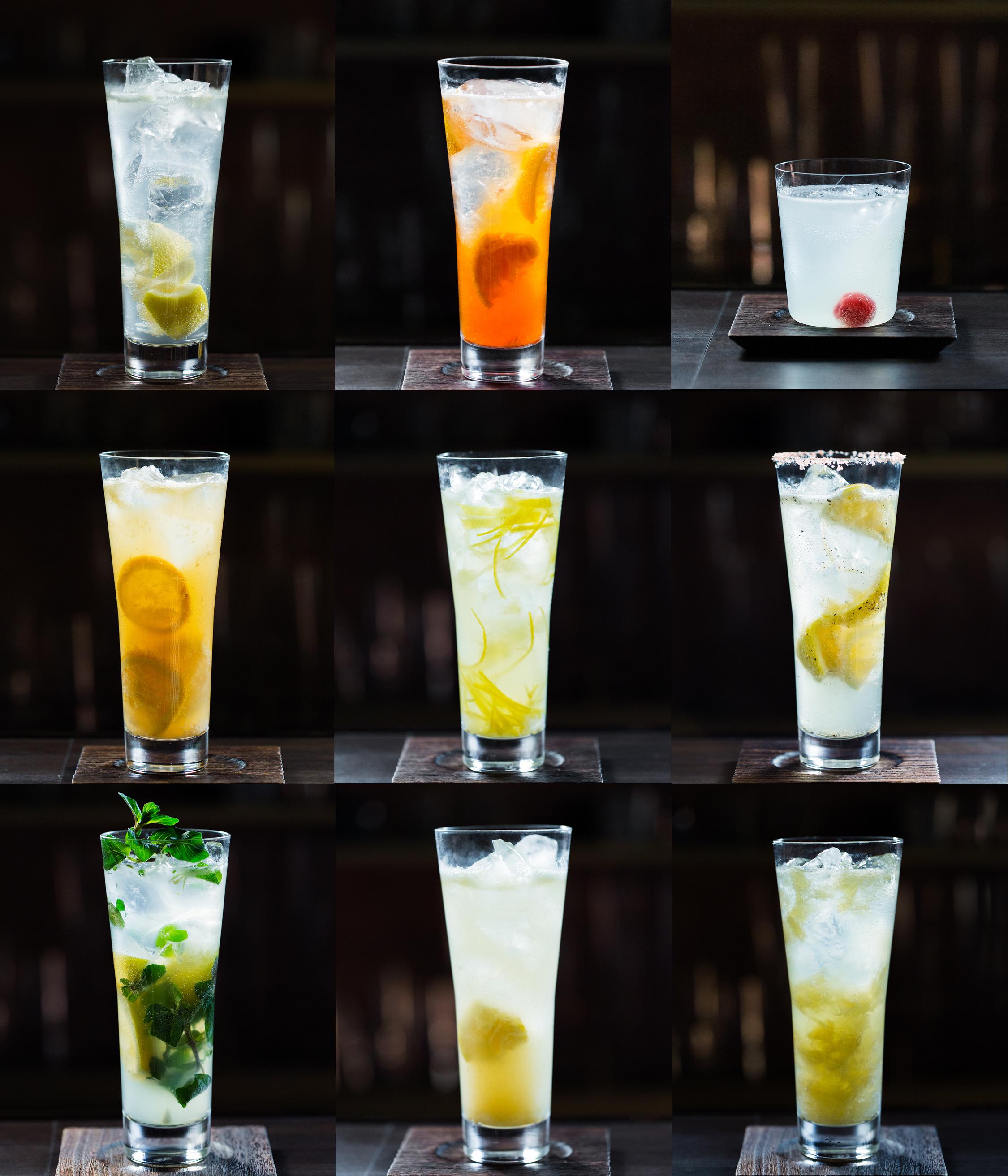 9種類のオリジナルレモンサワー