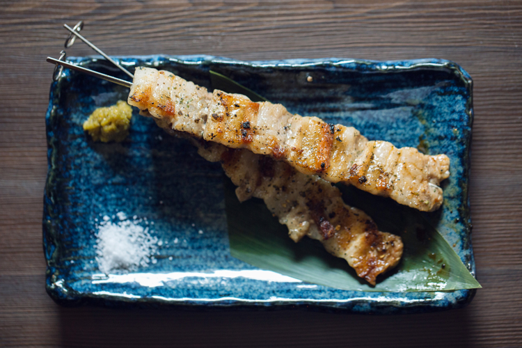 JAPANX豚バラ串