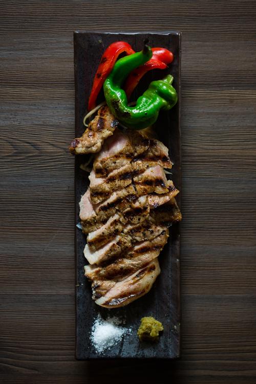 JAPANX豚の肩ロース厚切りステーキ