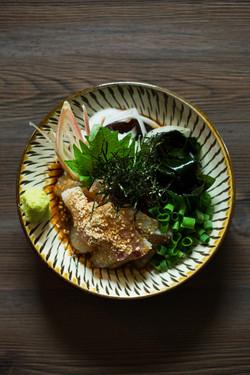 本日の鮮魚  (写真は胡麻カンパチ)