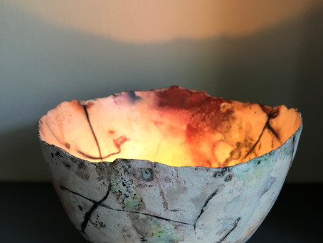 Bowl of light workshops booking now at Chapel Arts