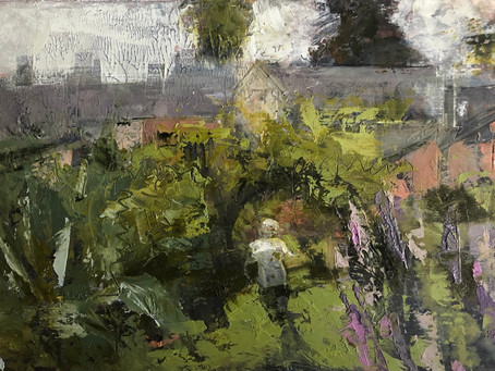 Hawkwood College Mixed Media Workshop 6th and 7th July 2019
