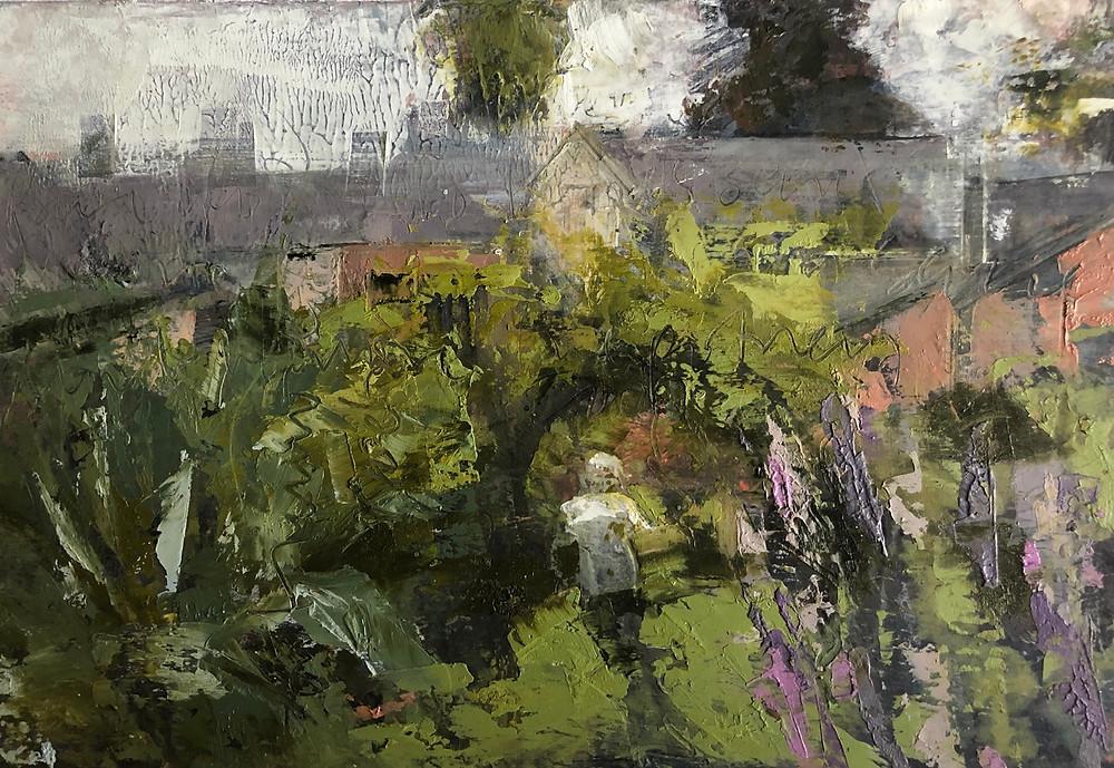Soft Light in the kitchen garden