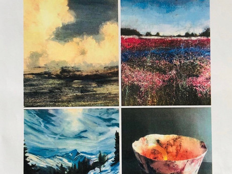 Gardens Gallery from today 19th-25th August a joint exhibition
