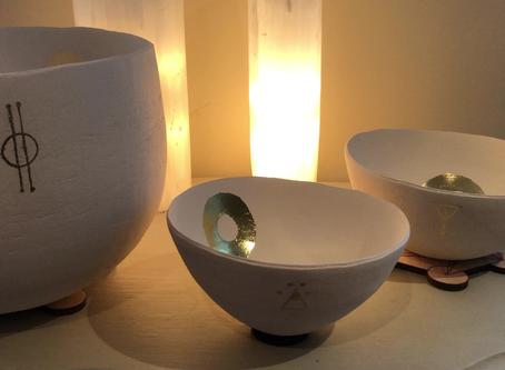 Autumn Equinox resonance bowls, bringing in the balance...