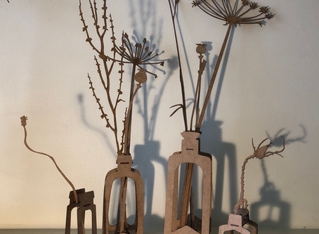 'Finding the Miracle in the Madness' exhibition is now on until  Oct 5th, Gardens Gallery,Cheltenham