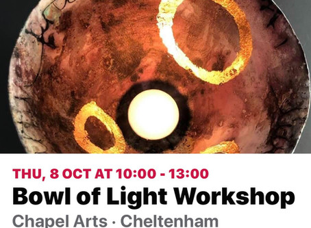 Next Bowl of Light Workshop 8th Oct