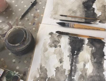Mark Making/Preparing Surfaces