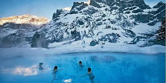 日内瓦+雪山温泉