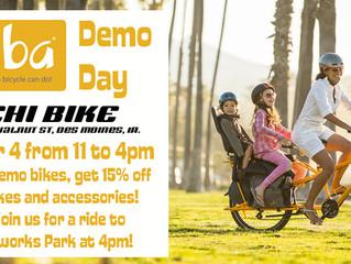 Yuba Demo Day, Tuesday October 4th