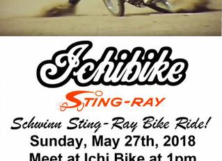 Schwinn Sting-Ray Bike Ride!