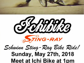 Schwinn Sting-Ray Bike Ride!