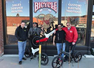 Ichi Bike is now a Gocycle dealer!