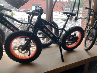 PEDEGO FAT TIRE ELECTRIC BIKES