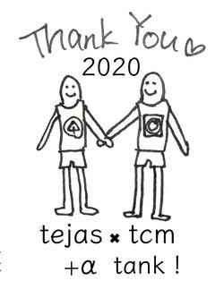 tejas×tcm +α tank! お渡し用イラスト 2020 Summer