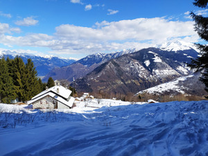 Con le ciaspole al Monte di Olano - Mercoledì 23 dicembre