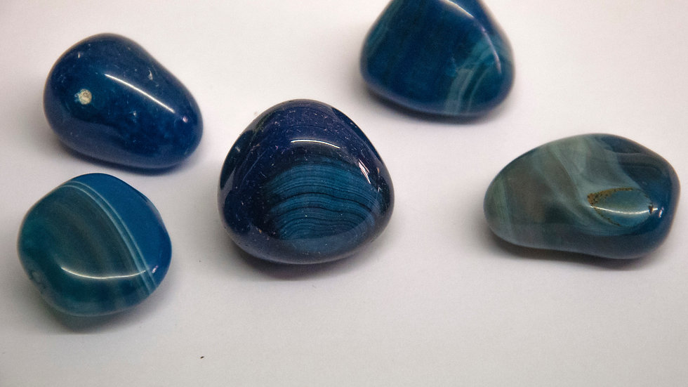 Agate - Blue (dyed)