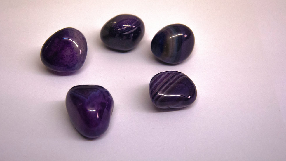 Agate - Purple (dyed)