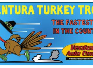 13th Annual Ventura Turkey Trot on Thanksgiving Morning, November 28, 2019
