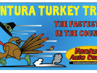 13th Annual Ventura Turkey Trot on Thanksgiving Morning, November 28, 2019