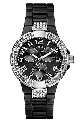 STATUS IN-THE-ROUND WATCH - BLACK POLYCARBONATE
