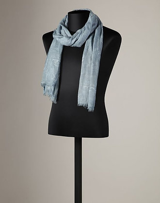 CASHMERE MODAL FRINGED SCARF (MENS)