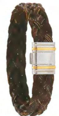 Bracelet Lisitanien Crin de Cheval13mm - Albanu