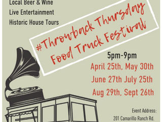Food Truck Thursday at Camarillo Ranch House Every Last Thursday of Month