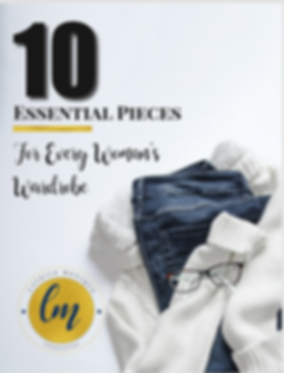 10 Essential Pieces for Every Woman's WardrobeEbook Cover.png