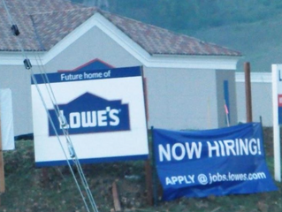 Lowe's Hiring for Grand Opening in Newbury Park / Thousand Oaks This Spring