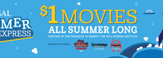 Family fun movies playing on Tuesdays & Wednesdays for the summertime!