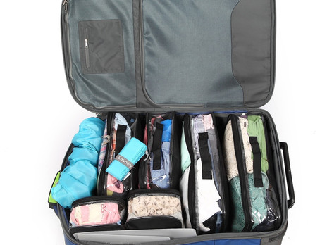 Organize Your Suitcase Perfectly!
