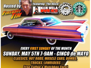 Muscles & Mojo Morning Car Show at Murphy Auto Museum in Oxnard First Sunday of the Month