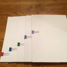 Keeping Order with Binder Clips