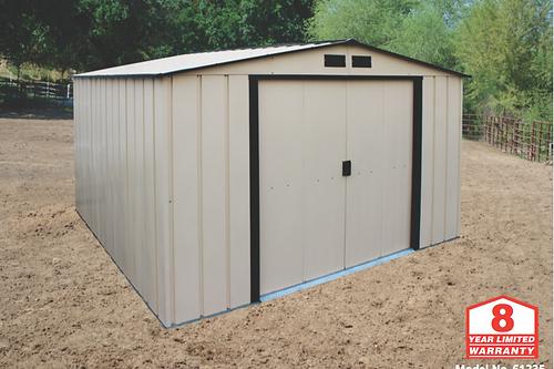 10x10 ecometal storage shed
